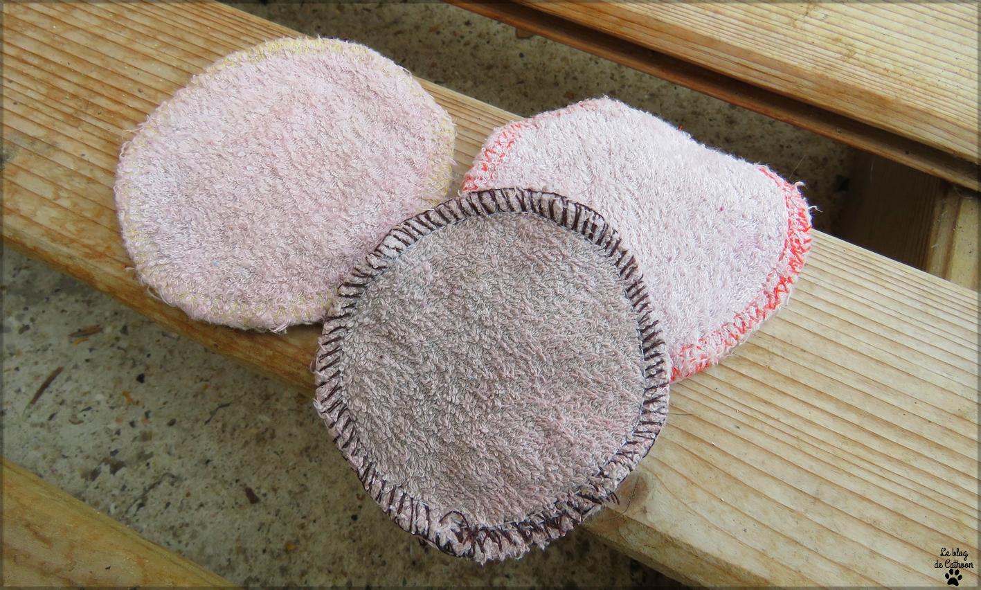 Cotons écologiques lavables - Lulu Nature