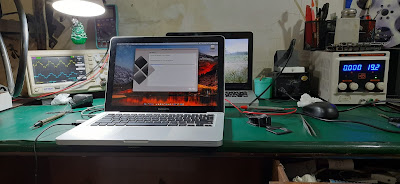 Service Macbook Pro masuk save mode terus