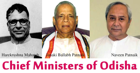 Chief Ministers of Odisha