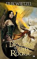 Couverture du livre Les dragons de la cités rouge de Eric Wietzel