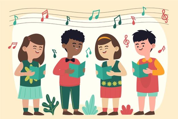 Konsep, Teknik, Membaca, dan Menulis Not Bernyanyi Satu Suara (Unisono) secara Berkelompok