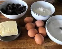 ingrédients pour un gâteau d'anniversaire Harry Potter