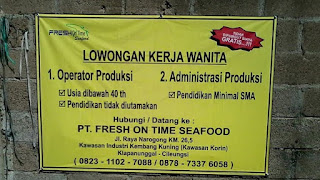 PT. Fresh On Time Seafood cileungsi