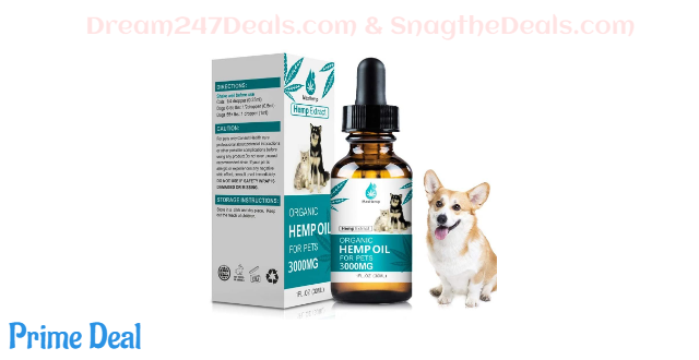 50% off Hemp Oil for Dogs Cats--3000mg~5000mg