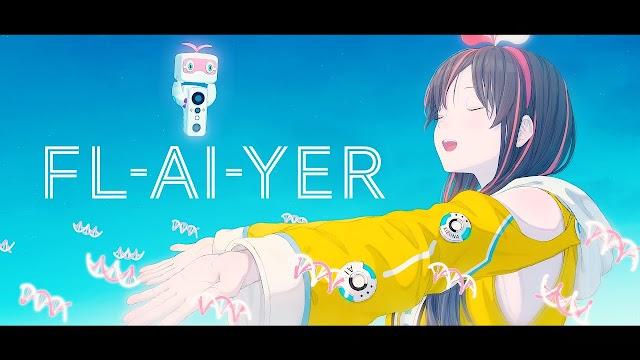 """Kizuna Ai Rilis Lagu Baru Bertajuk """"FL-AI-YER"""""""