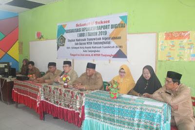 Kakankemenag Tanjungbalai Buka Sosialisasi ARD Tahun 2019