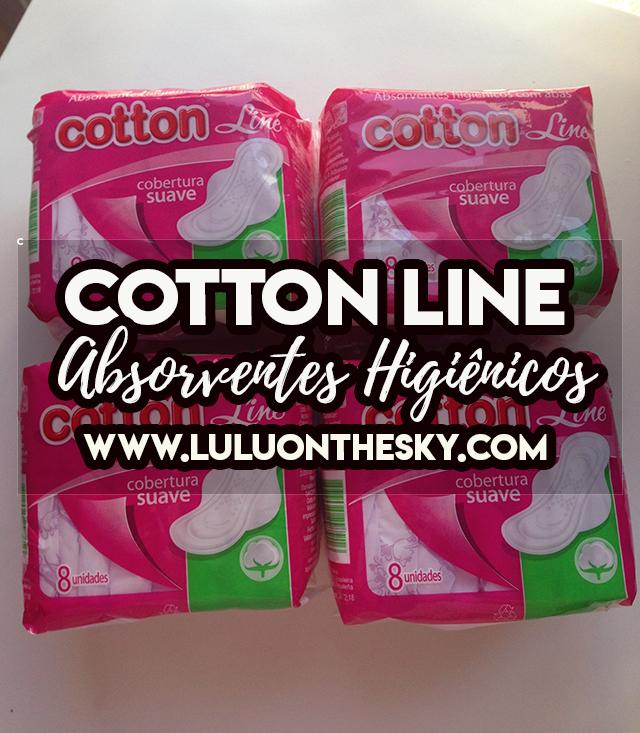 Cotton Line Absorventes Higiênicos com aba Cobertura Suave