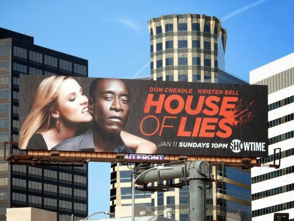 House of Lies season 4 Showtime billboard