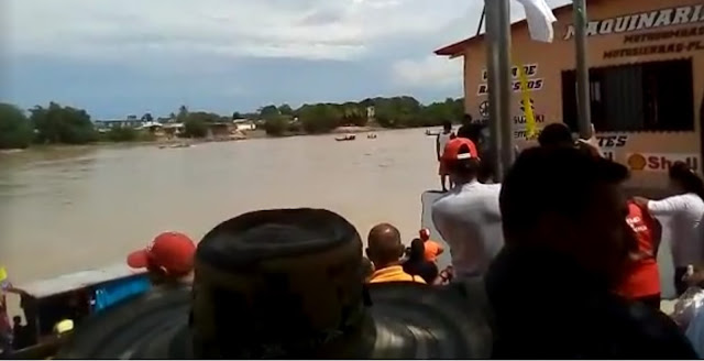 FRONTERA: Accidente de embarcación en el río Arauca entre Apure-Venezuela y Arauquita Colombia.