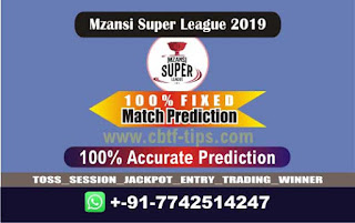 Who will win Today MSL 2019, 25th Match Jozi vs Tshwane - Cricfrog