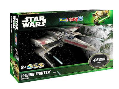 Revell - Maqueta EasyKit Star Wars X-Wing Fighter, escala 1:29 (06690)