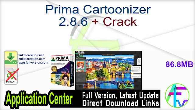 Prima Cartoonizer 2.8.6 + Crack