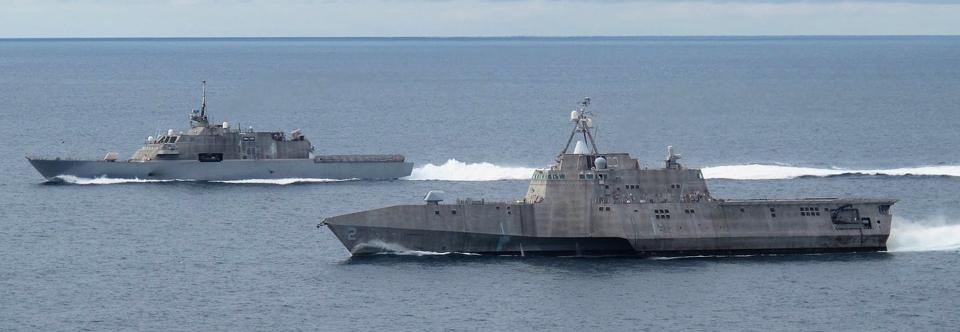 ВМС США хоче списати перші чотири кораблі LCS