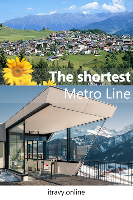 Serfaus - Dorfbahn - Shortest Metro Line