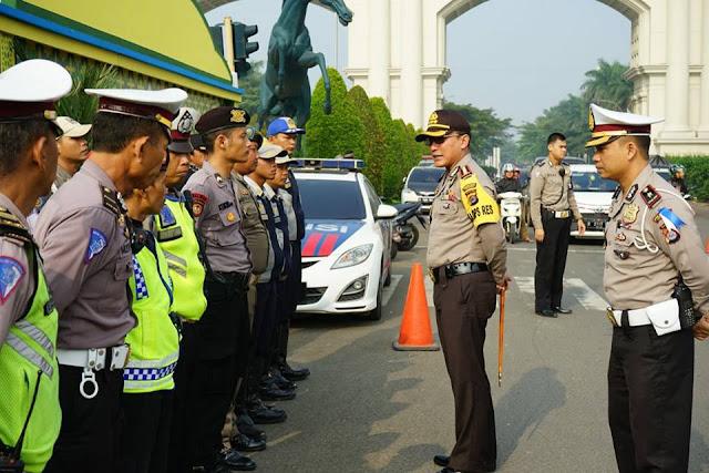 Pos pelayanan Lebaran 2018 Polres Kota Tangerang