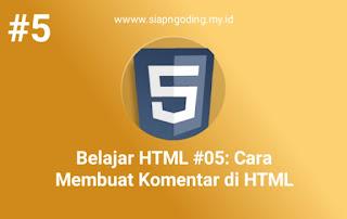 HTML KOMENTAR