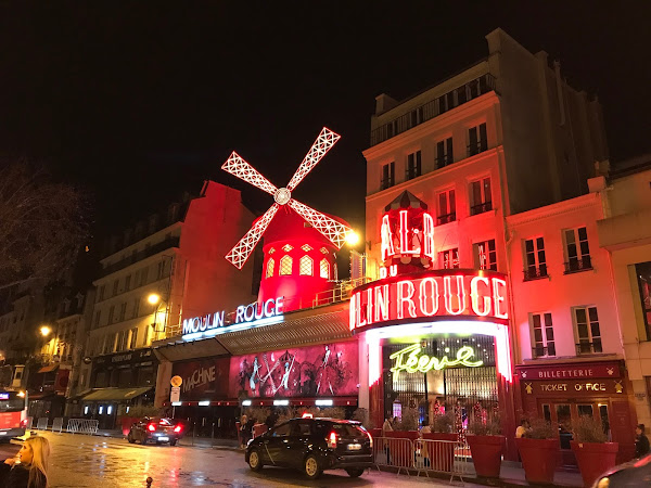 A Night at Moulin Rouge