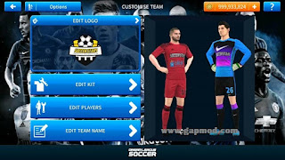 Download DLS Stars 2019 by Bimbox Mod Unlimited coins and Jersey