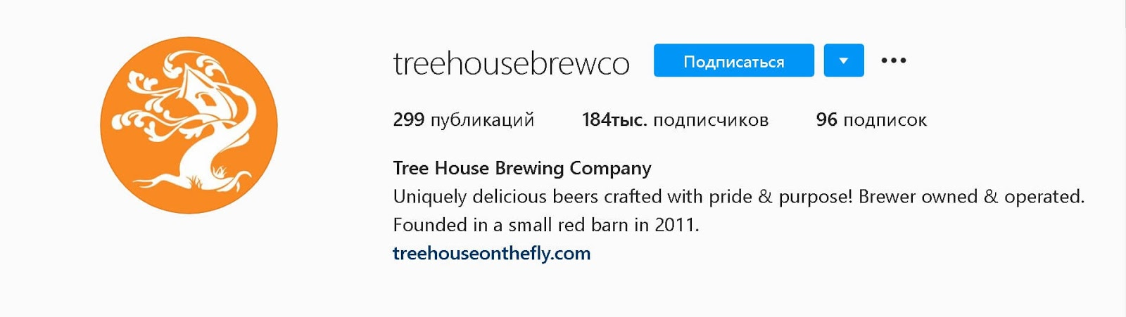 instagram-bio-tree-house-brewing-co