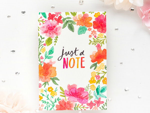 Just a Note - One Layer Card Design | The Stamp Market