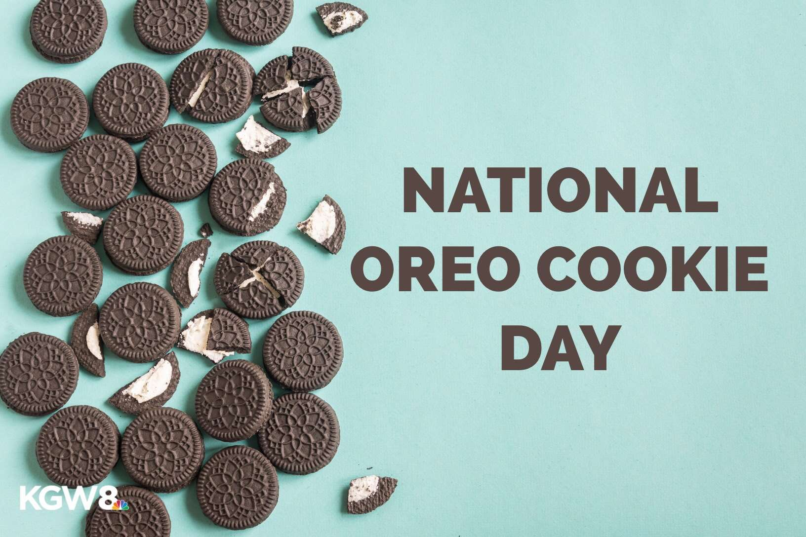 National Oreo Cookie Day Wishes Beautiful Image