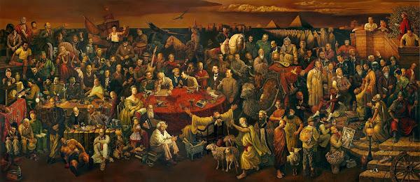 لوحة المشاهير tableau des 100 personnalités
