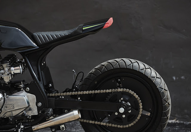 Kawasaki GPZ1100 By Federal Moto Hell Kustom