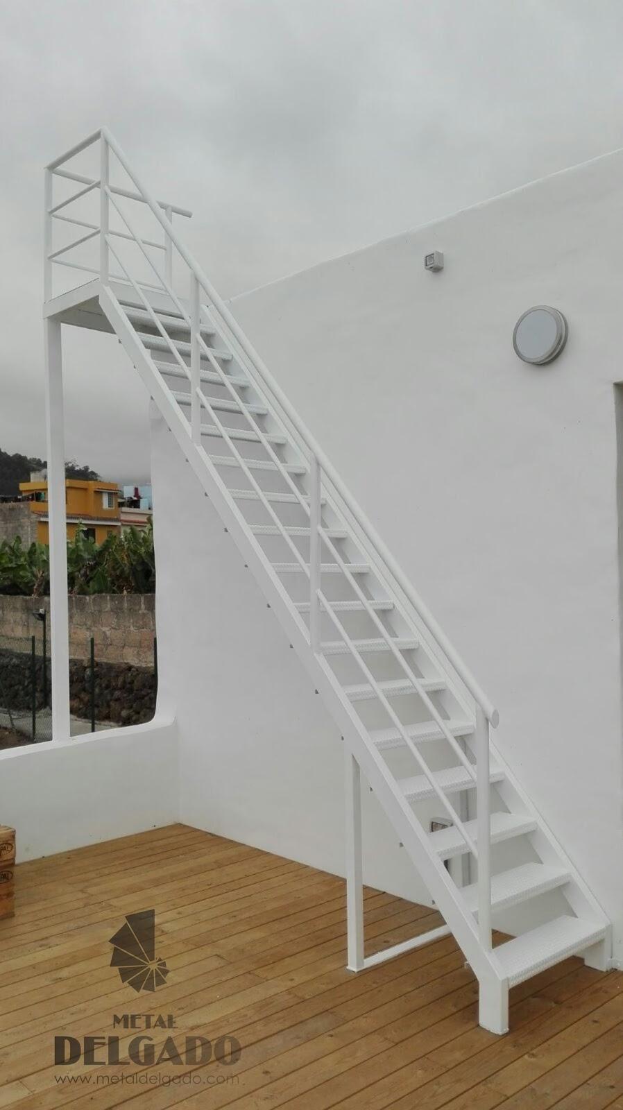 Acero inoxidable tenerife escaleras met licas tenerife - Escalera de caracol exterior ...