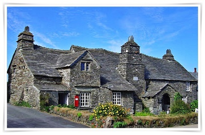 Ancient post office at Tintagel, Cornwall