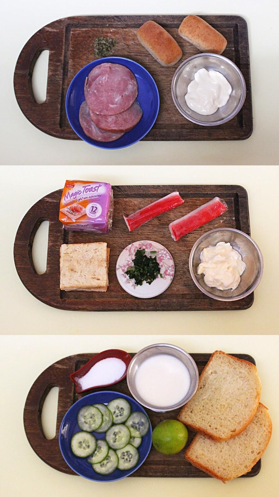 Receita de 3 aperitivos fáceis e diferentes