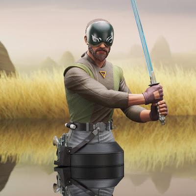 Star Wars Rebels Kanan Jarrus Mini Bust by Diamond Select Toys x Gentle Giant