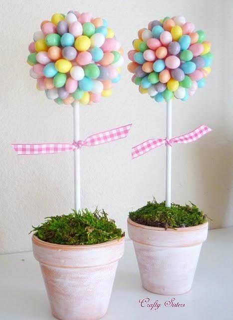 263 & Love. Live. Celebrate.: Inexpensive Flower Pot Centerpieces
