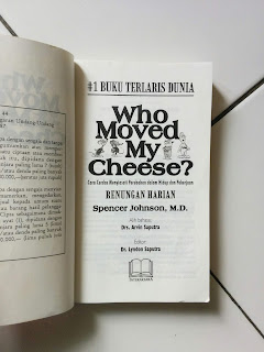 Who Moved My Cheese? Penulis Spencer Johnson