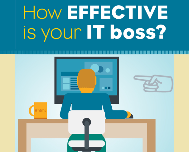 How-Effective-Is-Your-Boss #Infographic