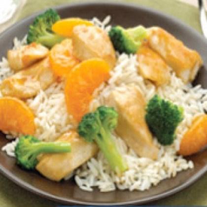 Broccoli Orange Stir Fry Recipe