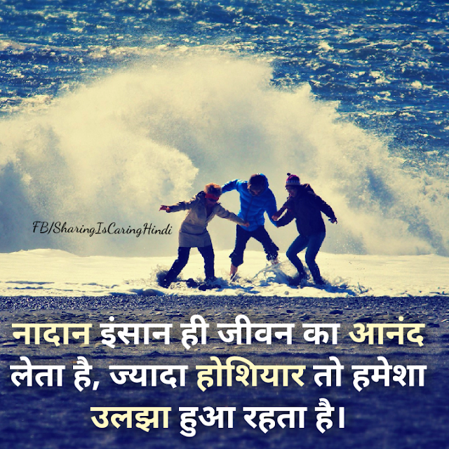 Anonymous Hindi Quotes on Life, Enjoyment, आनंद,