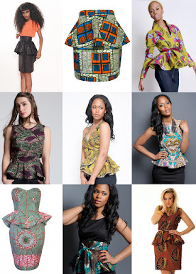 Find and Shop the Best African Peplum Tops Online