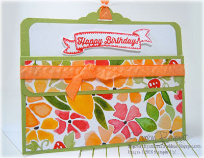 Horizontal Fold Fruit Stand Card - DSC#196