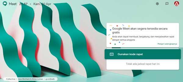 google meet gratis untuk siapa saja