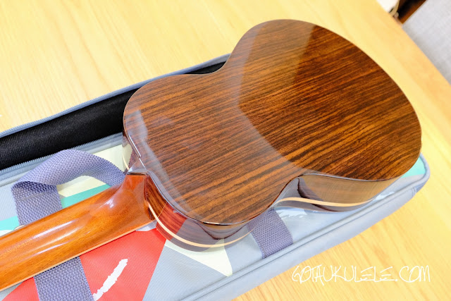 The Rebel Quark Tenor Ukulele  back