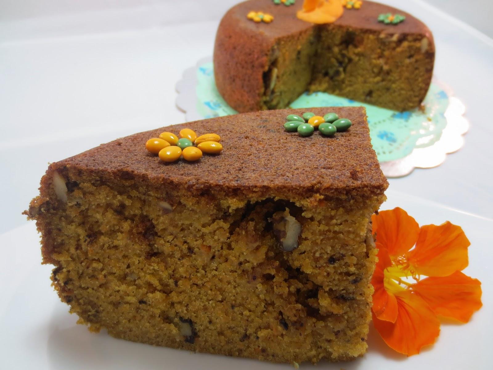Bizcocho de zanahoria (Carrot cake) Olla GM