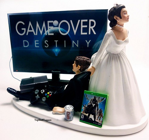 gamer wedding cake topper tap x rapidly true i married a non gamer 4440