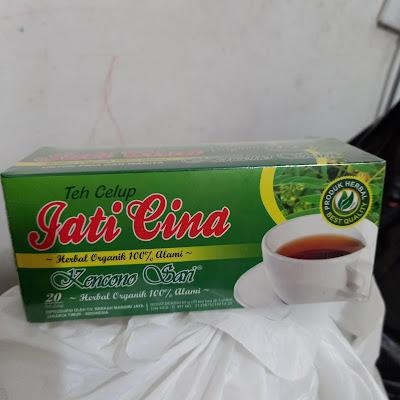 Teh Celup Jati Cina Kencono Sari