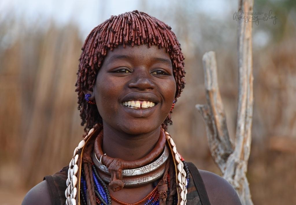 Podróż po Etiopii - część 20 - Piękni Hamerowie.