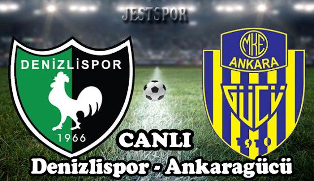 Denizlispor - Ankaragücü Jestspor izle