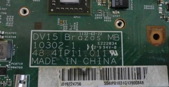 10302-1 DV15 Brazos MB 48.4IP11.011 Dell Inspirion M5040 Bios