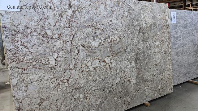 White spring Granite Slab NYC