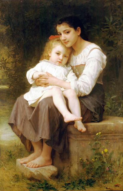 Адольф Вильям Бугро - Старшая сестра (1886)