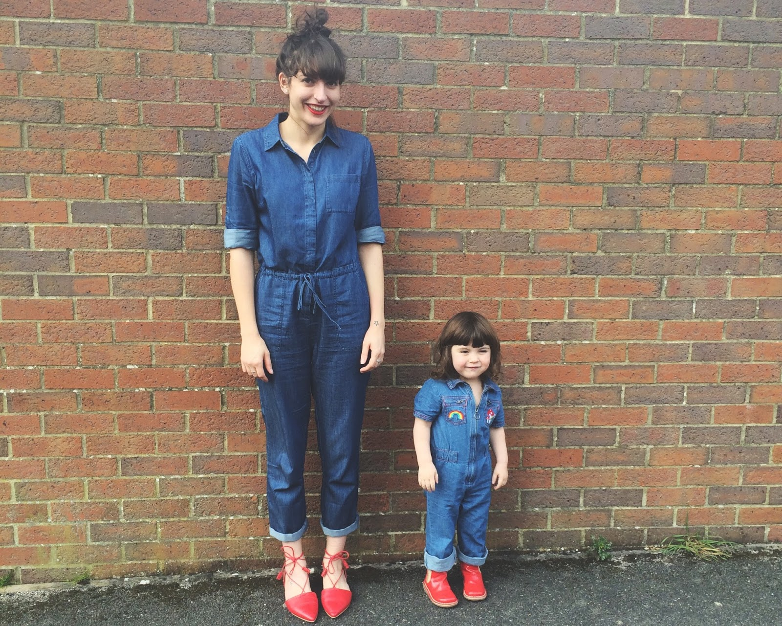 Me myself and ivy wardrobe denim jumpsuits for Boden jumpsuit