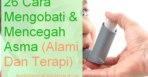 26 Cara Mengobati dan Mencegah Asma (Alami & Terapi)